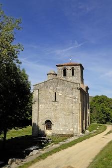 Chapelle notre-dame de la vallée, monasterio de rodilla, la bureba, burgos