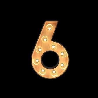 Chapiteau lumière numéro 6