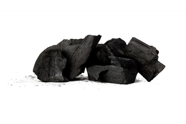 Charbon de bois naturel la poudre de charbon de bambou a des propriétés médicinales avec le charbon de bois traditionnel