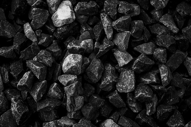 Charbons noirs naturels pour le fond. charbons industriels