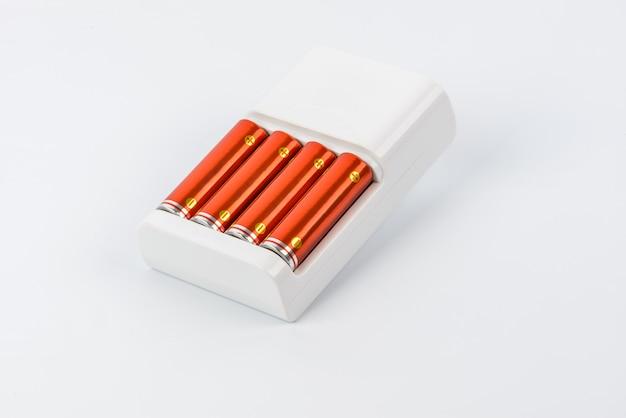 Chargeur de batterie avec batteries isolées
