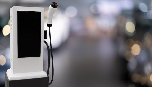 Chargeur de voiture ev pour garage de haute technologie