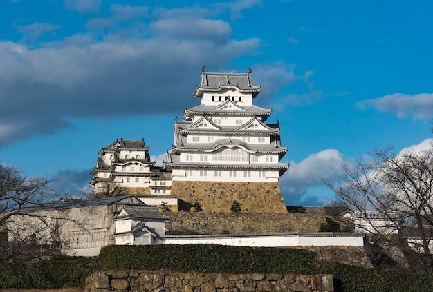 Château d'aigrette blanche ou château de himeji, japon
