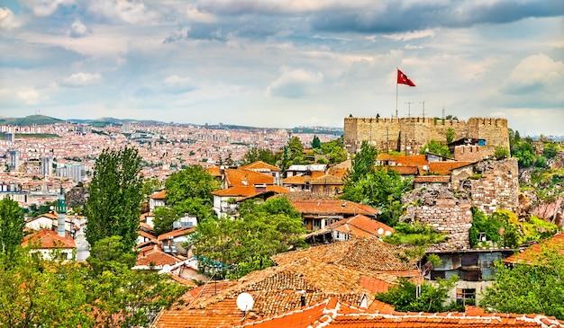 Château d'ankara, anciennes fortifications dans la capitale de la turquie