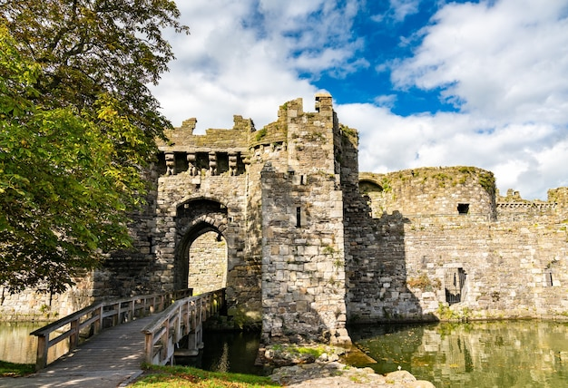 Château de beaumaris, patrimoine mondial de l'unesco au pays de galles, grande-bretagne