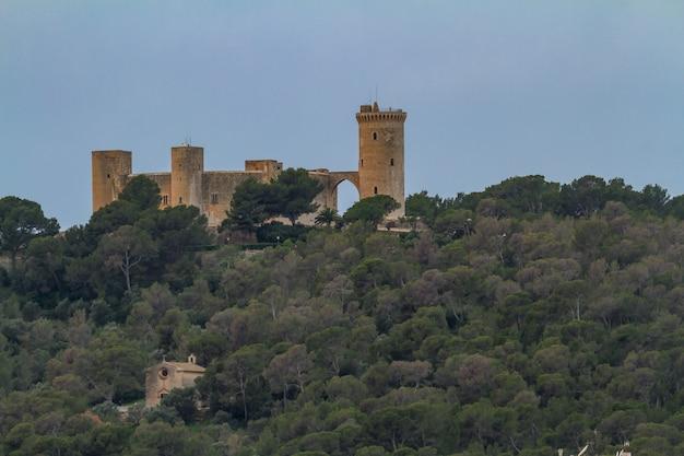 Château de bellver, palma de majorque, espagne