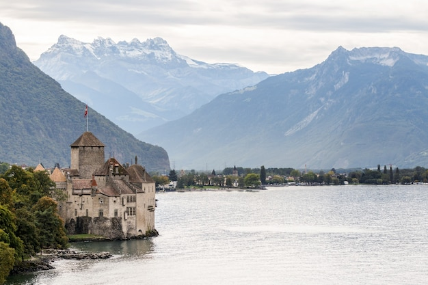 Château de chillon à montreux suisse