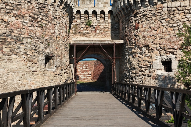 Château dans la ville de belgrade, serbie