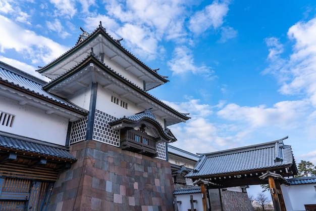 Château de kanazawa à kanazawa, préfecture d'ishikawa, japon