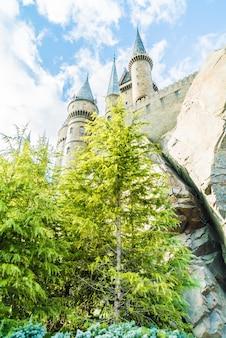 Château monde signe village d'aventure