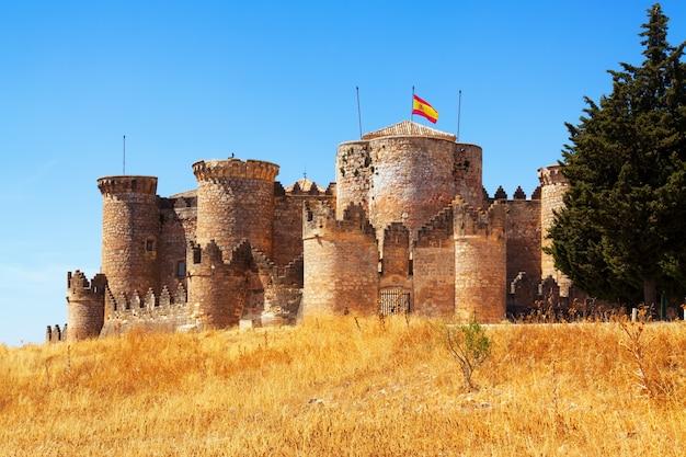 Château mudéjar à belmonte