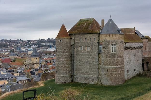 Le château-musée de dieppe en normandie