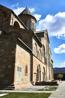 Château de narikala à tbilissi en géorgie