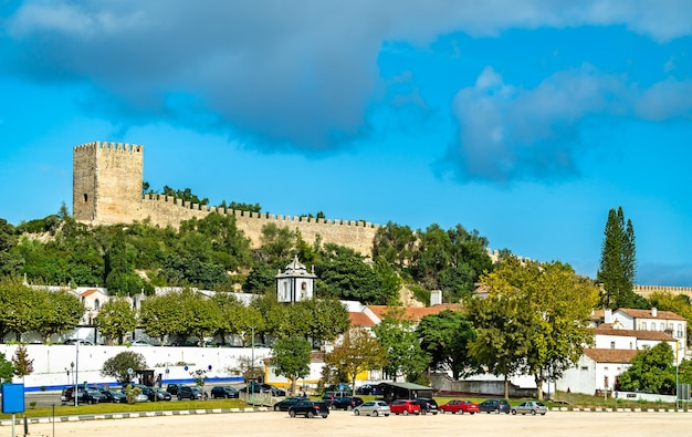 Château d'obidos, une ville médiévale fortifiée dans la région d'oeste au portugal