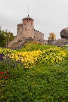 Château d'olavinlinna à savonlinna