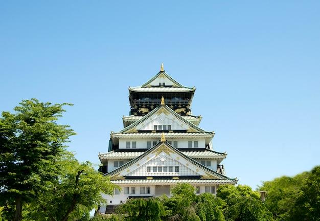 Château d'osaka au japon