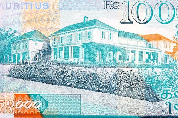 Château de reduit siège officiel du président de l'argent mauricien