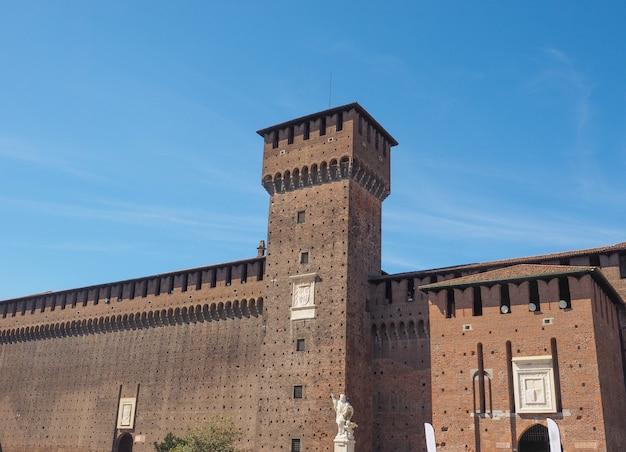 Château sforzesco milan