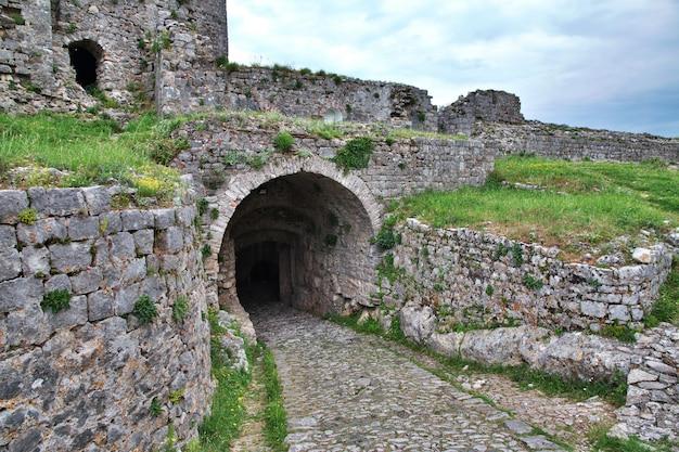Château de shkodra en albanie, dans les balkans