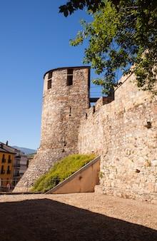 Château des templiers à ponferrada, espagne