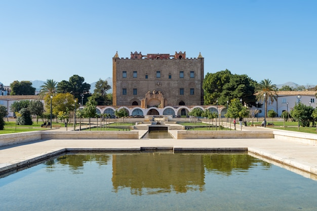 Château de zisa. palerme, sicile, italie