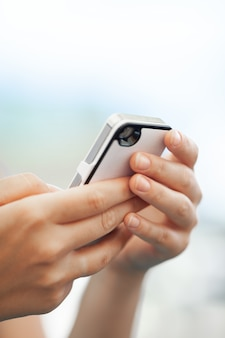 Chatter sur smartphone