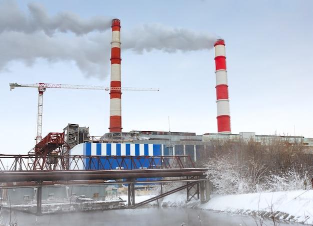 Chauffage central électrique cogénération en hiver