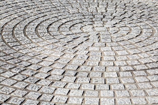 Chaussée de sol en pierre