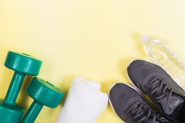 Chaussures de course avec accessoires de fitness