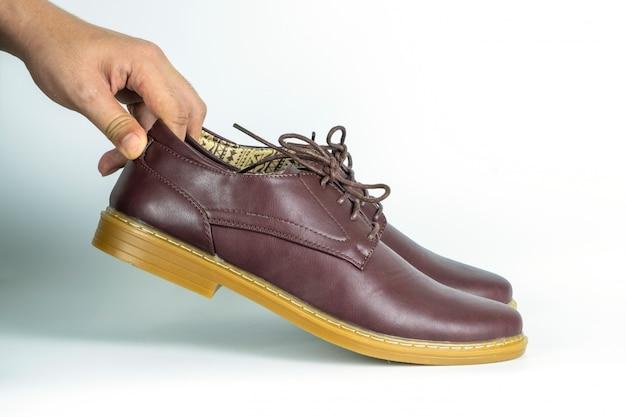 Chaussures en cuir formelles