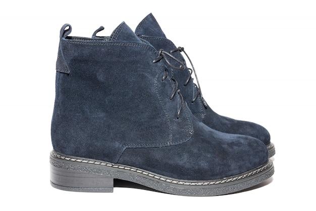 Chaussures en daim d'hiver
