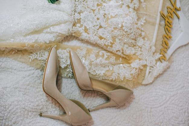 Chaussures de demoiselle d'honneur