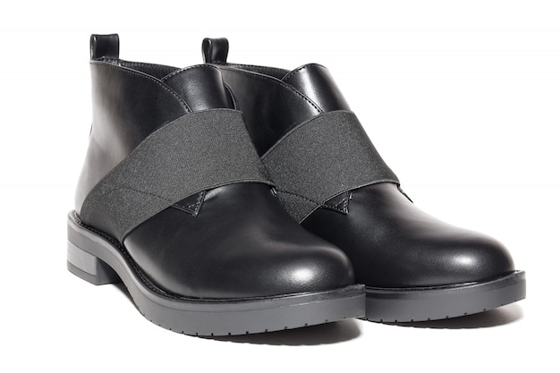 Chaussures femme en cuir d'hiver