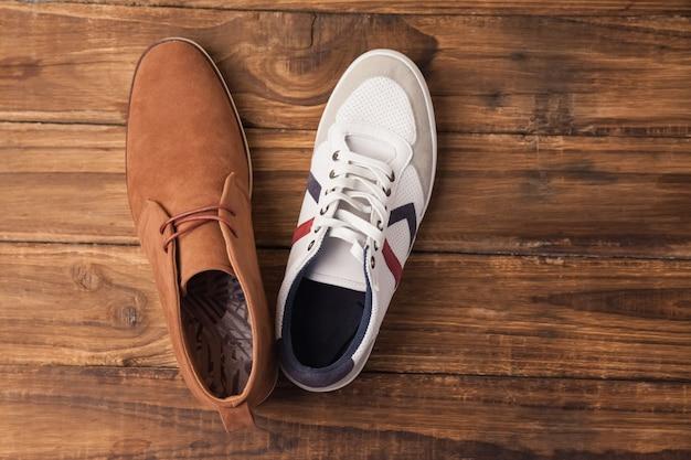 Chaussures homme casual et habillées