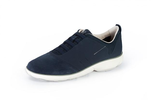 Chaussures hommes bottes isolés sur blanc