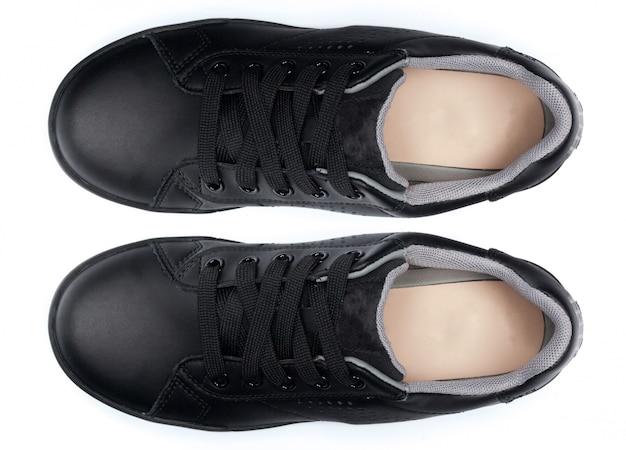 Chaussures isolées sur blanc