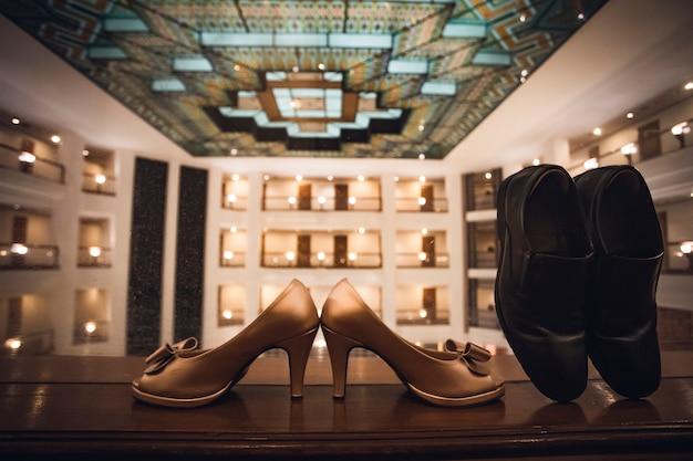 Chaussures de mariée et de marié