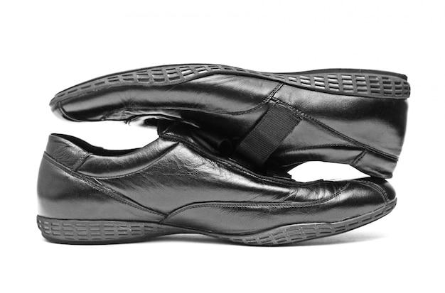 Chaussures noires isolées