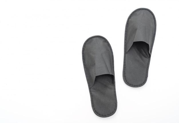 Chaussures pantoufles noires