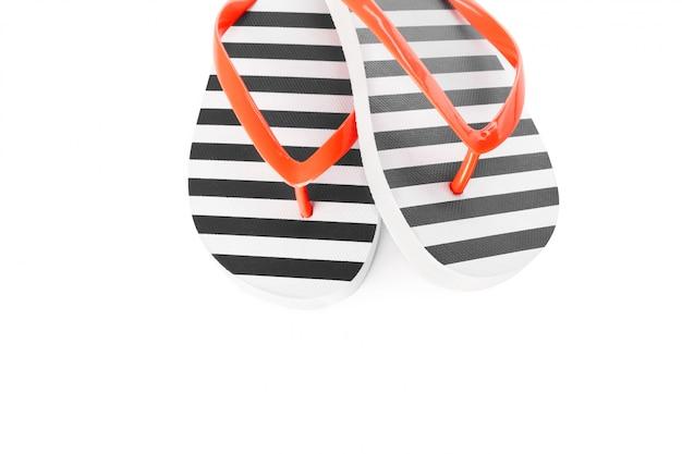 Chaussures de plage isolés