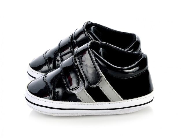 Chaussures pour enfants isolées