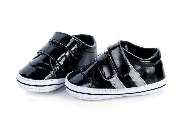Chaussures pour enfants isolés sur blanc