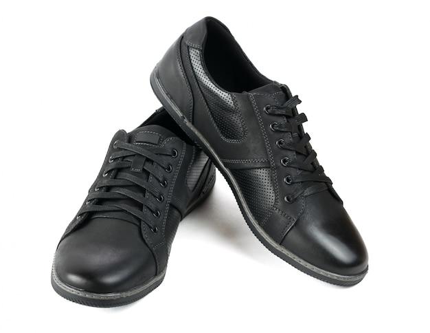 Chaussures de sport originales pour hommes isolés