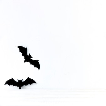 Chauves-souris en papier pour halloween