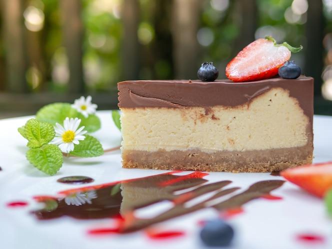 Cheesecake au choccolate