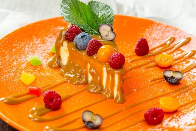 Cheesecake aux baies fraîches
