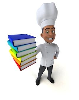 Chef amusant - personnage 3d
