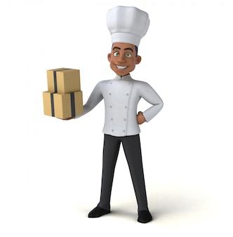 Chef amusant