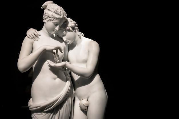 Chef-d'œuvre d'antonio canovas cupidon et psyché amore e psiche 1797 symbole de l'amour éternel