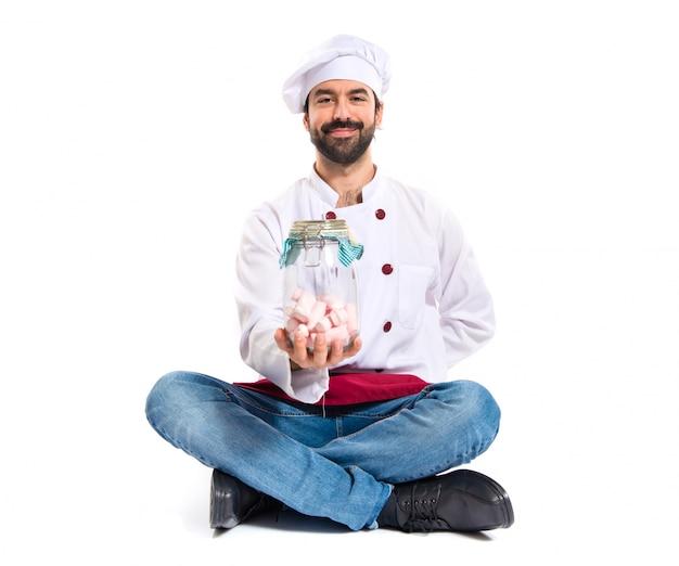 Chef, tenue, sweetmeats